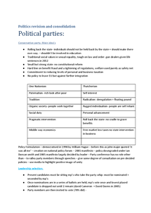 Preview of Political parties, Electoral systems