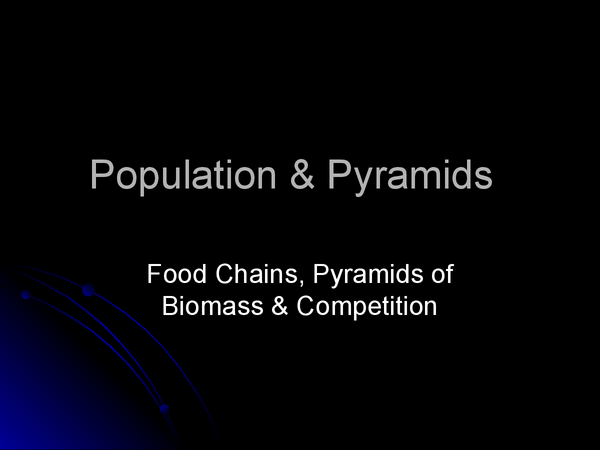 Preview of Population & Pyramids