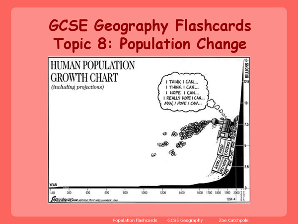 Preview of Population Change Revision Notes
