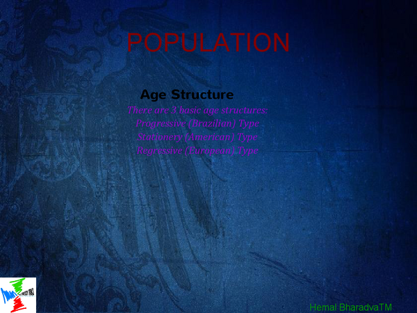 Preview of POPULATION KEY POINTS- SUMMARY