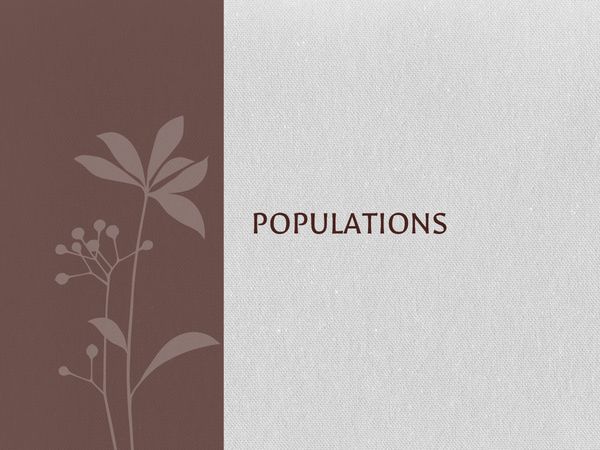Preview of Populations aqa a2 unit 4 (ecosystems, competition, predation, human populations)