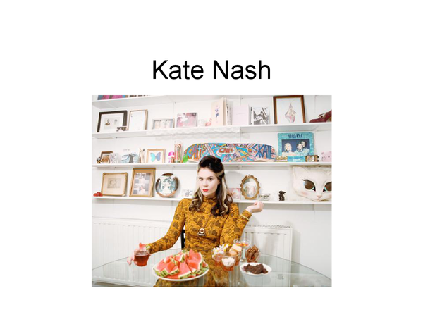 Preview of Power point on feminist: Kate Nash