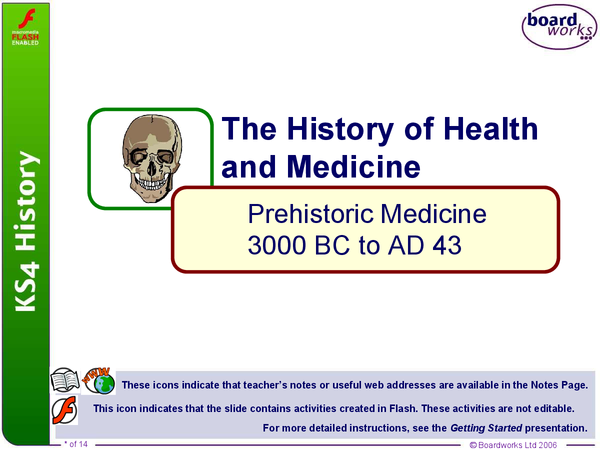 Preview of Prehistoric medicine powerpoint