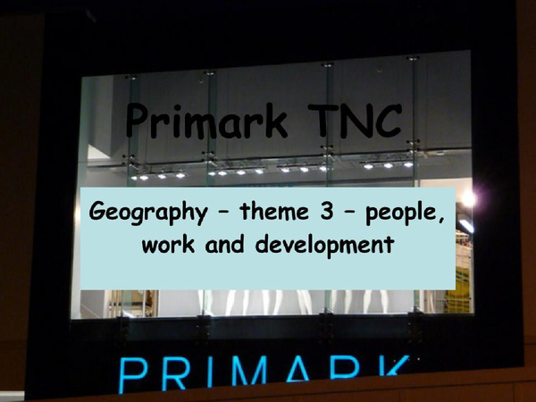 Preview of Primark TNC