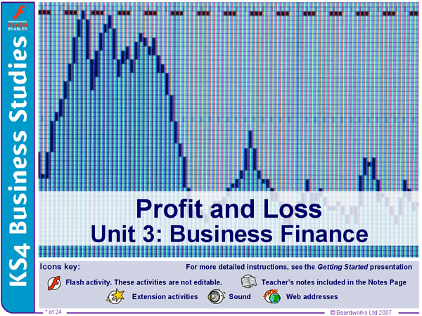 Preview of Profit and Loss