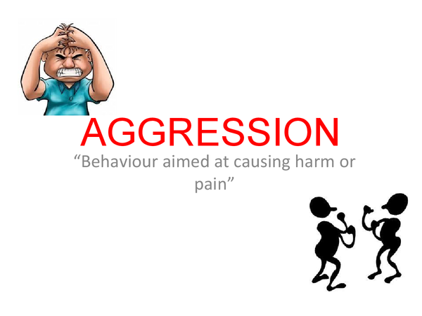 Preview of Psychology - aggression