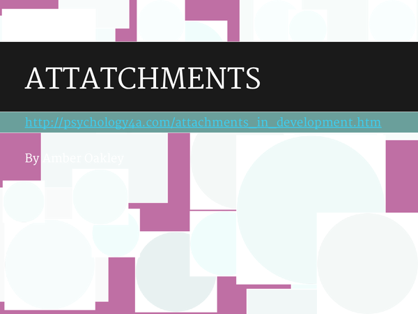 Preview of psychology-attachment- most of the studies