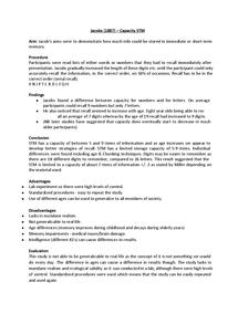 Preview of Psychology Cognitive Case Studies