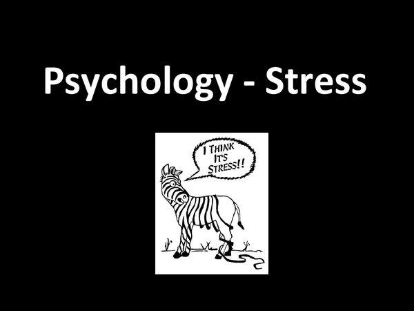 Preview of Psychology - Stress (HPA Axis and SAM System)