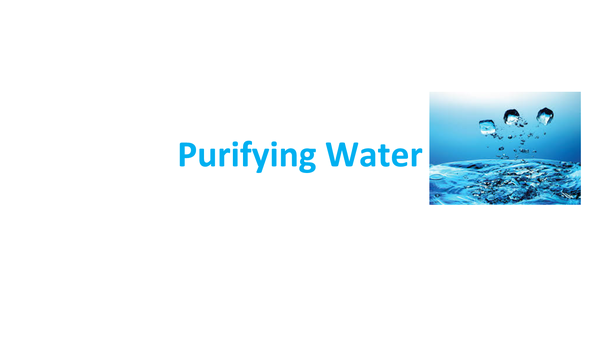 Preview of Purifying Water C3