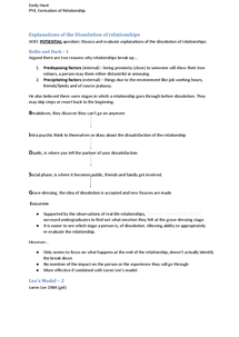 Preview of PY4 - Relationships WJEC