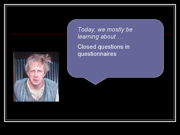 Preview of Qualities Of A Good Closed Question