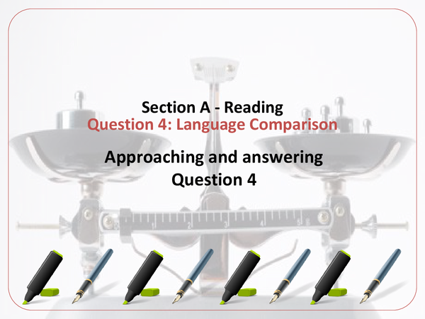 Preview of Question 4 Guidline