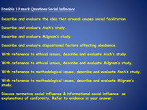 Preview of questions