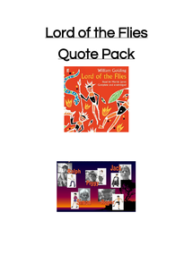 Preview of Quote pack for LOTF
