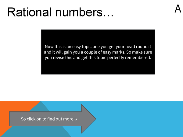 Preview of Rationalising powerpoint