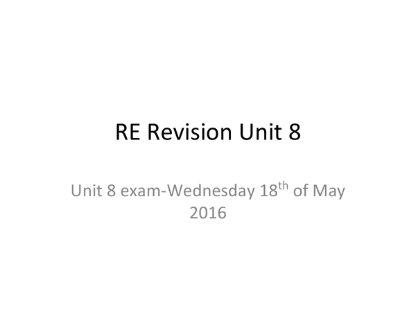 Preview of Re Revision