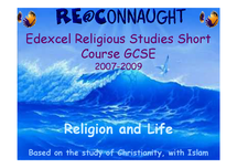 Preview of RE EDEXCEL SHORT/LONG COURSE