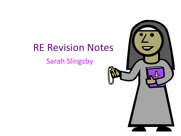 Preview of RE PowerPoint for unit 8