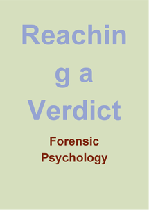 Preview of Reaching a verdict title cards
