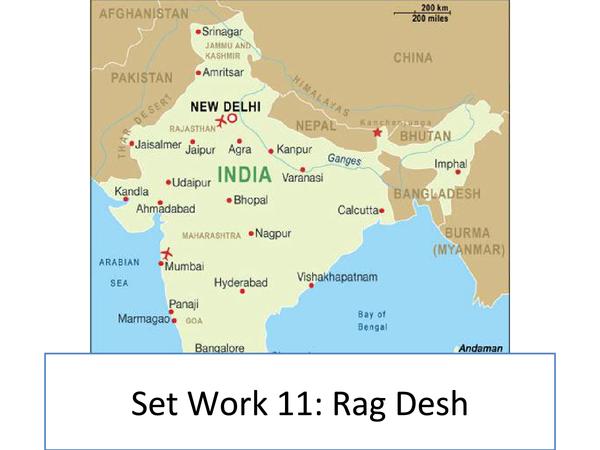 Preview of Recap Of Rag Desh - AoS4 Edexcel