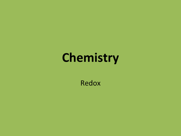 Preview of Redox equations (a2)
