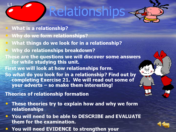 Preview of Relationships