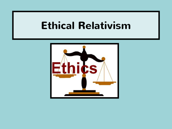 Preview of Relativism