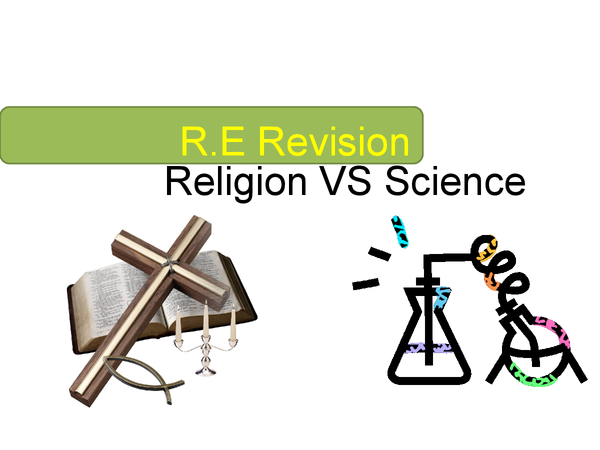 Preview of Religion and Science RE Revision