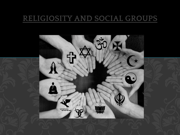 Preview of Religiosity and Social Groups - Age