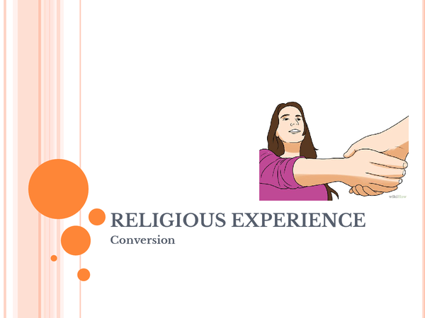 Preview of Religious Experience: Conversion