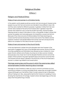Preview of Religious Studies OCR Ethics 1