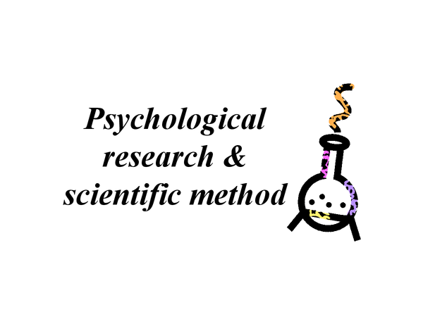Preview of Research Methods