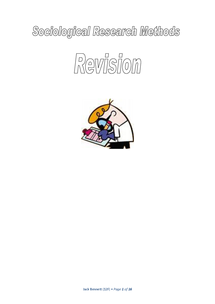 Preview of Research Methods Comprehensive Revision Guide