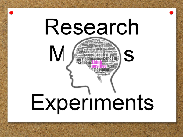 Preview of Research Methods - Experiments