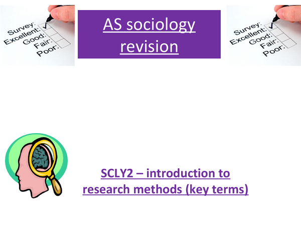 Preview of Research methods - key terms