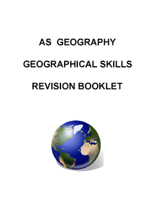Preview of Revision Booklet for Geog 2 Exam