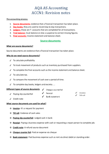 Preview of Revision notes for Accounts Accn1