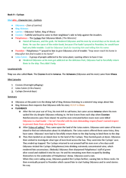odyssey revision notes Trojan war summary learn a current version of xenia: unit 4: homeric composition odyssey maps odyssey timelines: homer help pages:  the iliad and the odyssey the .
