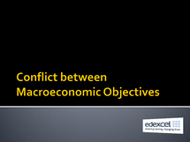Preview of Revision on macroeconomic objectives