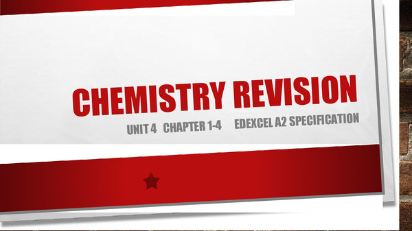Preview of Revision Powerpoint Unit 4 Chapters 1-4