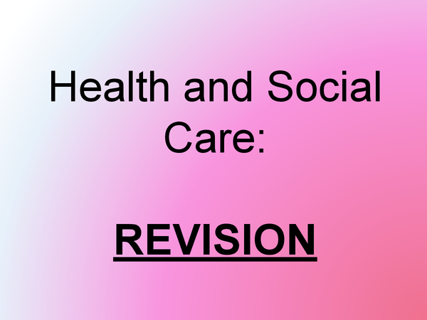 Preview of Revision PowerPoint for AS Level HSC Exam!