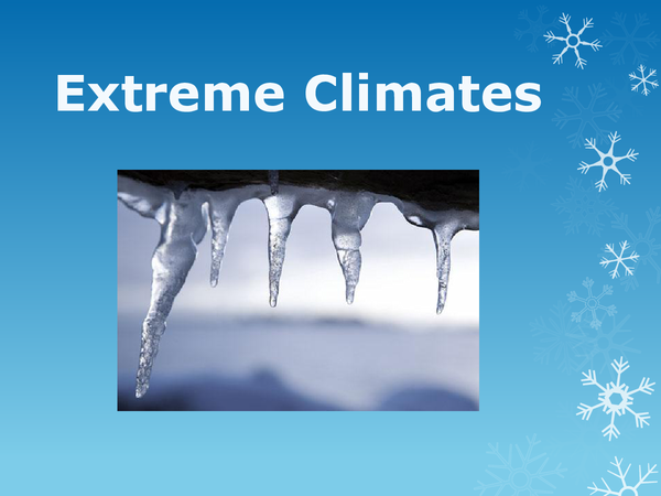 Preview of Revision Powerpoint for Extreme Climates (Polar Region)