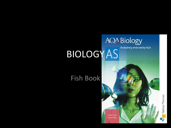 Preview of Revision Questions for AS Unit 1 Biology AQA