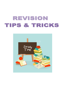 Preview of Revision Tips For (almost) EVERY Subject <------ This Workss!