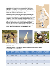 Preview of RIVER NILE - WATER CONFLICTS - COMPLETE CASE STUDY