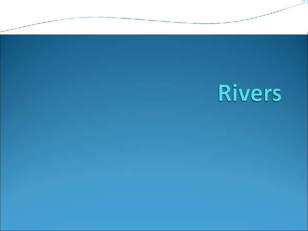 Preview of Rivers (summaries)