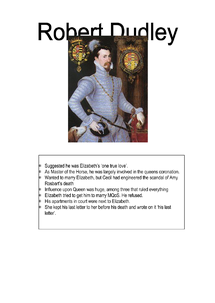 Preview of Robert Dudley - an overview