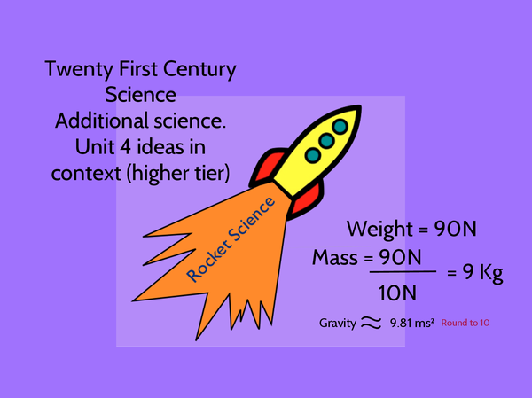 Preview of Rocket Science Ideas in context
