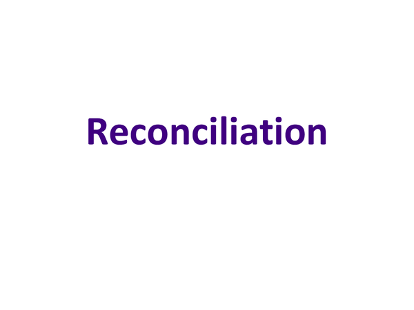 Preview of Roman Catholicism Ethics Topic 4 - Christian Reconciliation